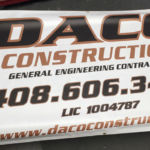 Daco Construction banners