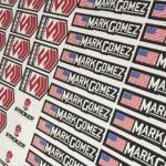 Mark Gomez Jet Ski USA Stickers